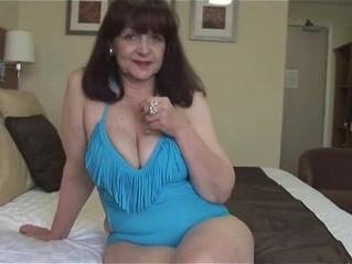 big tits  gilf  lady