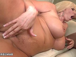 blonde  cock  milf