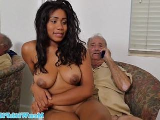 black  busty  grandpa