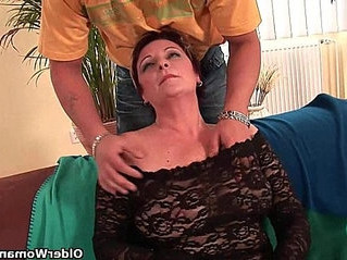 cock  enjoying  grandma