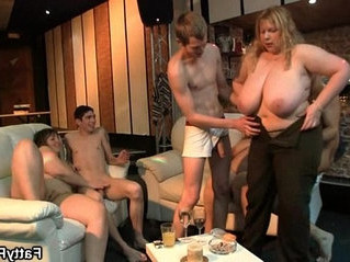 blonde  cock  fat