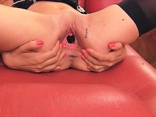 big ass  gaping  panties