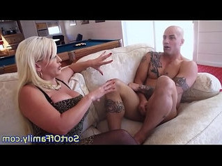 cock sucking   cougar   stepdaughter